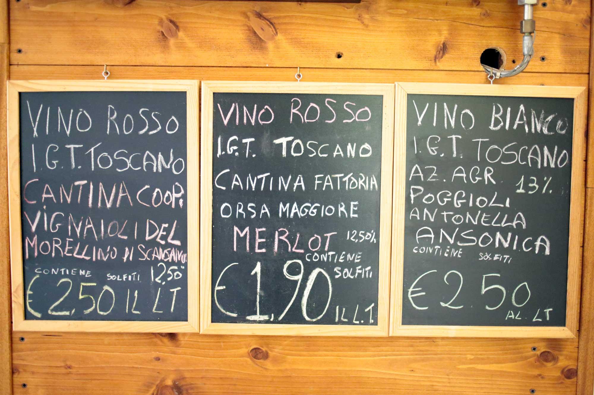 Vini toscani e prodotti toscani di qualità - I piaceri della Maremma